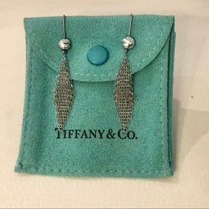 TIFFANY & Co Elsa Peretti 925 Mesh Earrings